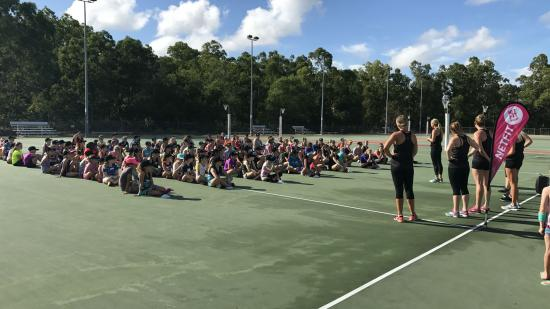 Netfit Darwin coaching clinic group lesson