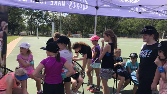 Netfit Darwin coaching clinic girls preparation