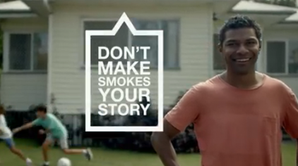 This is a preview image of 15 second TVC for Don't Make Smokes Your Story