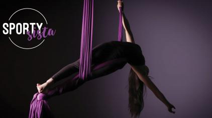 SportySista for November is Cindy Wei - Girls Make Your Move - Aerial arts