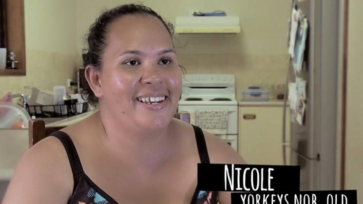 Nicole quit for a healthy pregnancy